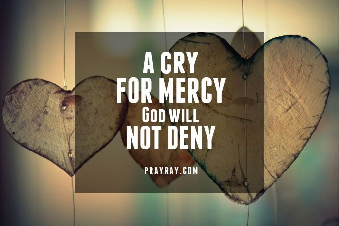 DIVINE MERCY PRAYER Lord have forgiveness and mercy on me