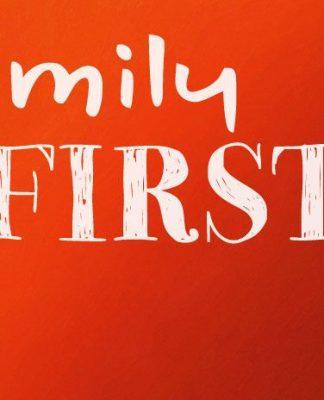 Prayer for family first