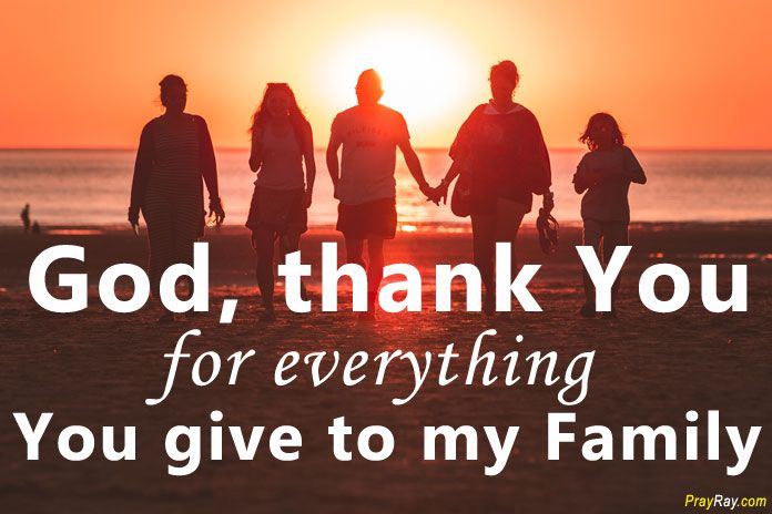 THANKSGIVING PRAYERS FOR FAMILY and Friends - Short examples