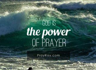 God is power of prayer