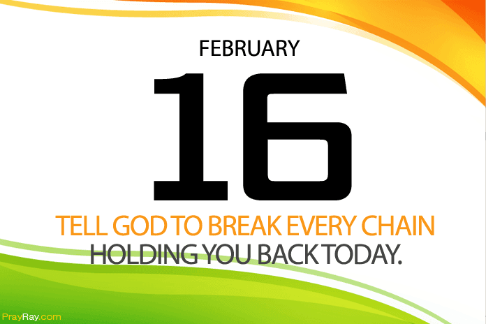 Daily prayer God break past