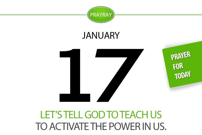 Daily prayer power of God