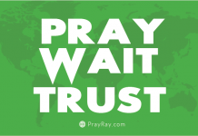 Pray wait trust keys to effective prayer
