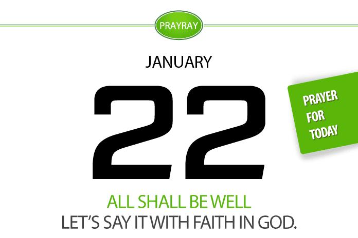 Daily prayer faith in God