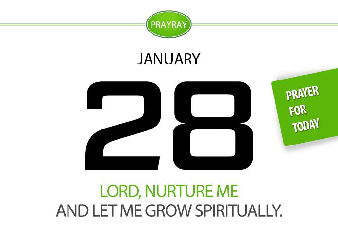 Daily prayer grace of God