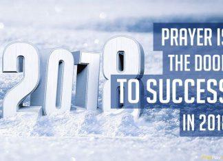 Prayer points for 2018