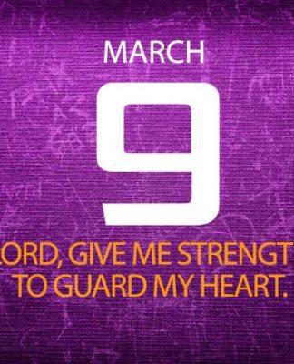 Guard your heart bible verse prayer