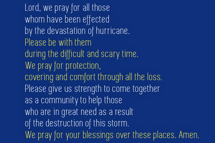 hurricane prayer