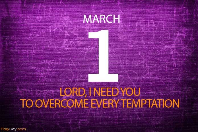 Prayer overcome temptations