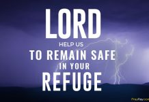 Prayer for hurricane protection