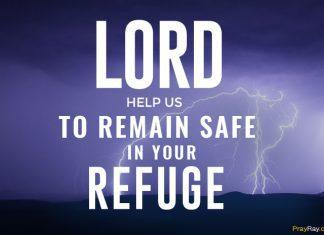 Prayer for hurricane protection