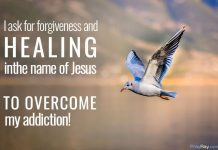 Powerful prayer against addiction