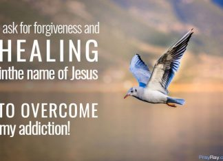 Powerful prayer against addiction