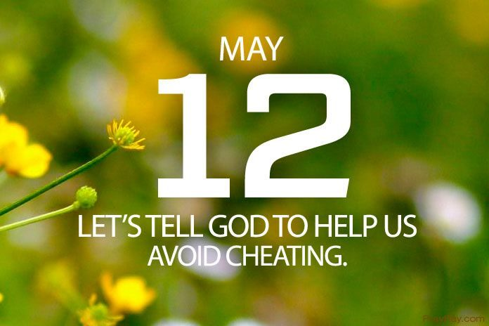 avoid cheating prayer