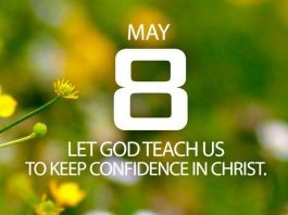 Keep confidence in Christ