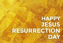 Easter Sunday Happy Jesus Resurrection Day