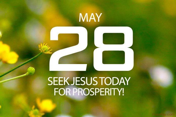 God wants us to prosper