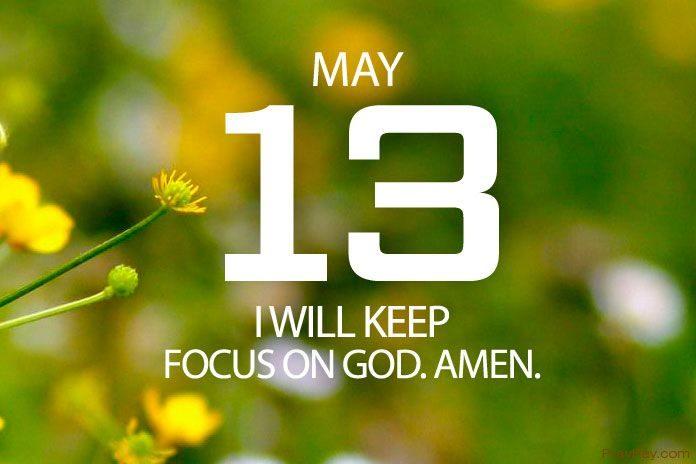 keep focus on God