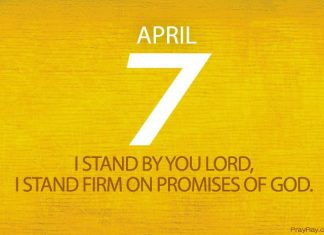 Stand firm on promises of God