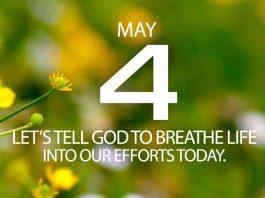 God breathed life into humans prayer