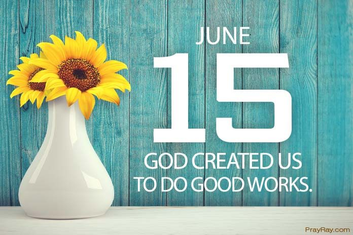 God created us to do good works