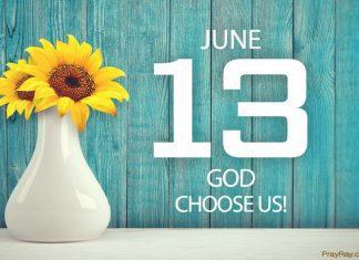 God choose us