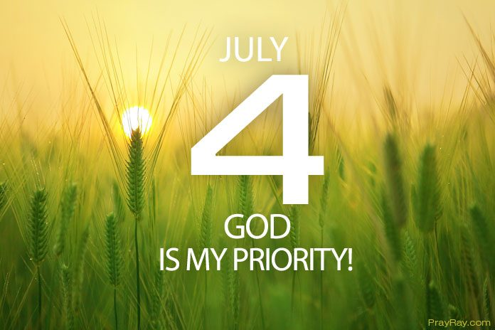 God is my priority