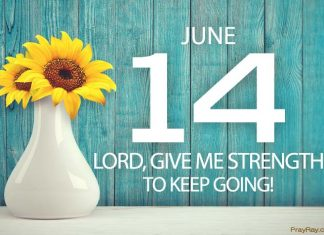 God promises never to leave us