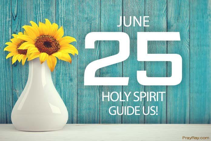 Holy Spirit guides us