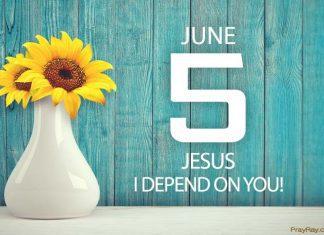 Jesus I depend on you