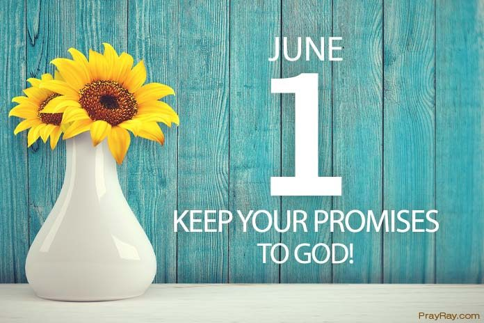 keeping your promises to God