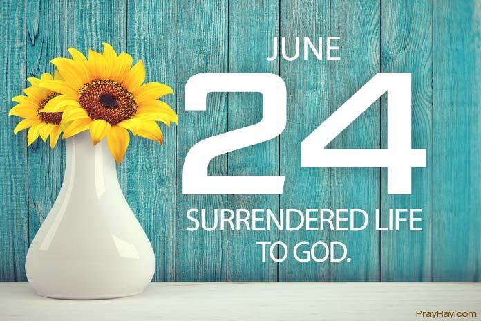 Living surrendered life to God