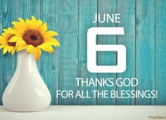 thanks God for all the blessings