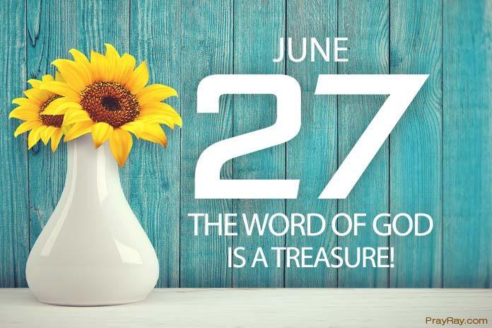 treasure God's word