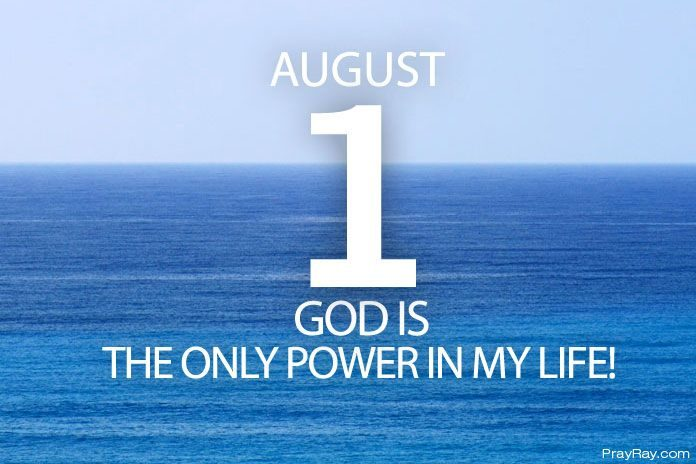 God is the only power in my life
