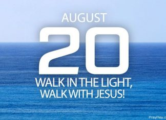walking in the light of Christ