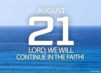 continue in the faith