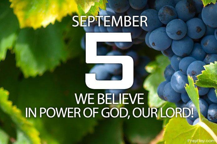 believe in power of God