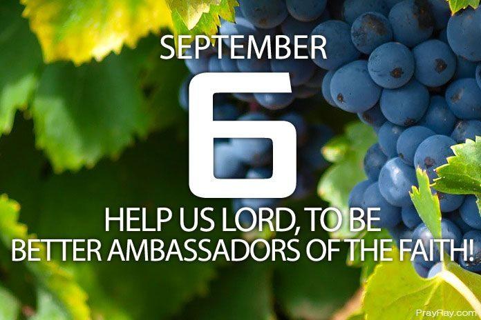 we are God's ambassadors