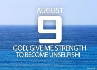 overcome selfishness