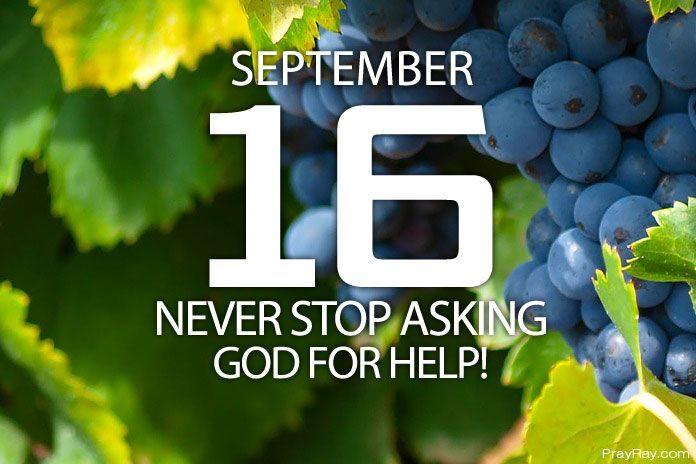 asking god for help
