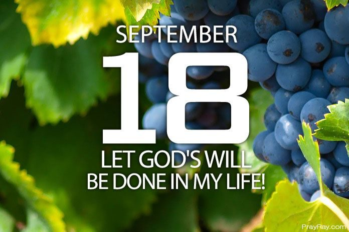 let god's will be done in my life