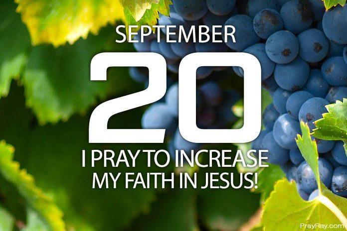 increase faith in Jesus christ