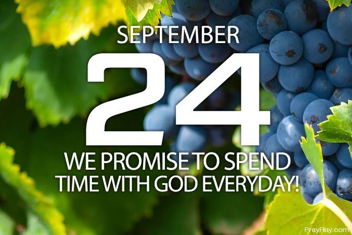 spend time with god everyday