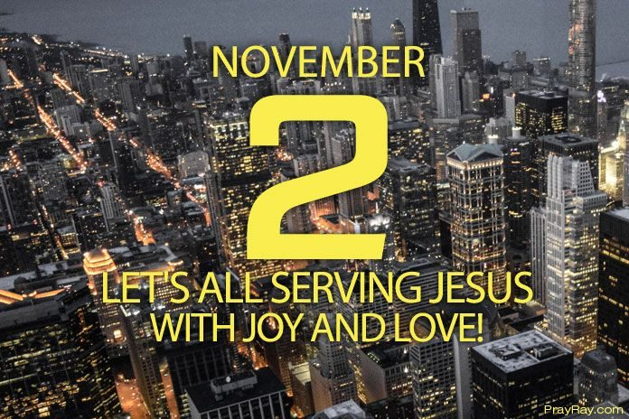 serving jesus christ with joy