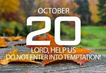 overcoming temptation through prayer