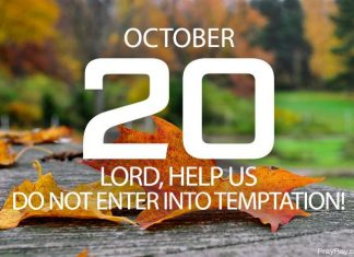 overcoming temptation through prayer