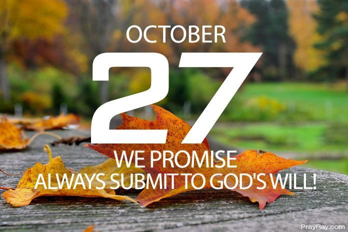 submit to god's will
