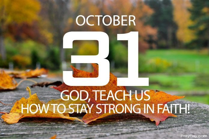 staying strong in faith
