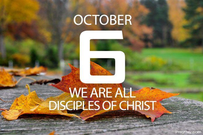 WALKING IN THE POWER OF HOLY SPIRIT Prayer for October 6
